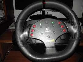 Volante Logitech MOMO Racing Force Feedback Wheel - Muy Cuidado !!!