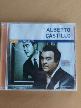 CD alberto castillo los esenciales sony music