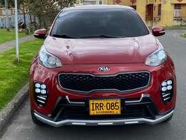 Vendo camioneta Kia Sportage LQ 2017