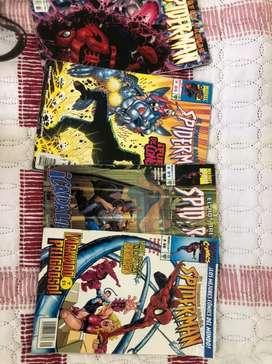 Revistas Comic's Spiderman 4 unidades año, 2000