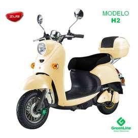 GreenLine Moto Eléctrica ZUB H2