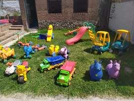 Plaza blanda para emprendimiento infantil