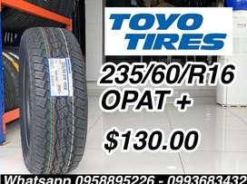 Llanta Toyo 235 60 R16 Opat