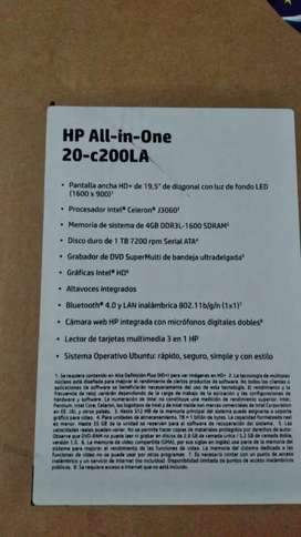 PC HP ALL IN ONE