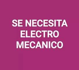 SE NECESITA ELECTROMECANICO