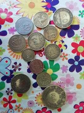 Vendo Monedas Antiguas Del Peru