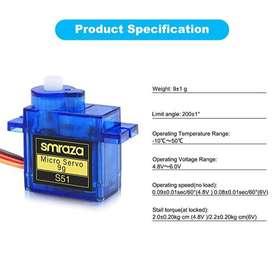 Micro servomotor SG90 9G