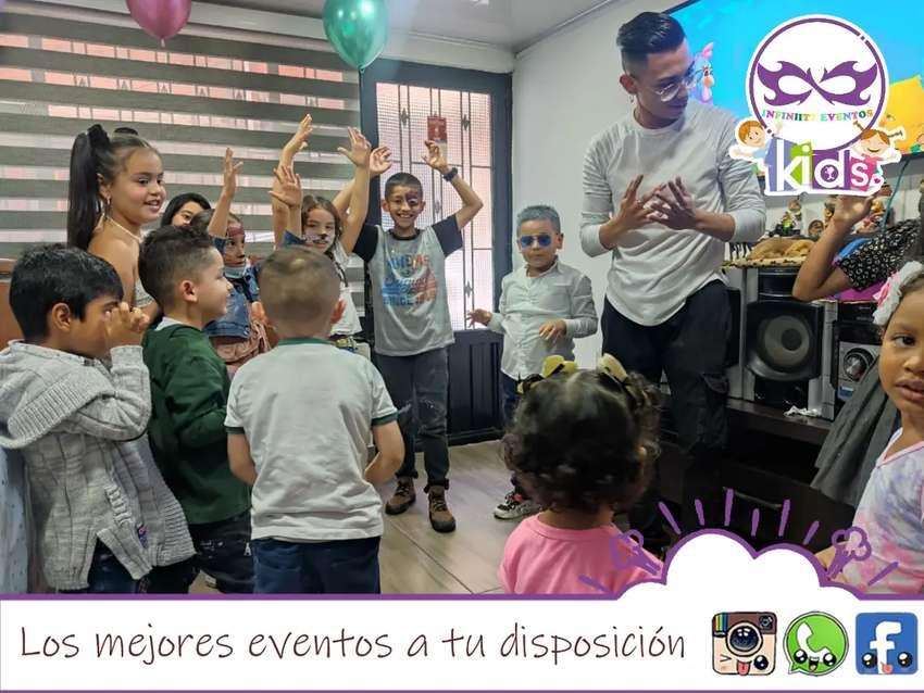 Fiestas infantiles, animadores, recreacionista para cualquier tipo de celebración.