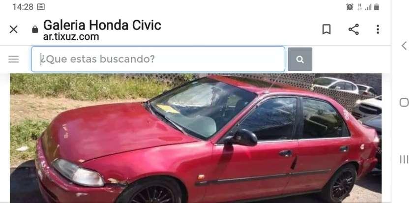 VENDO REPUESTOS DE HONDA CIVIC VTEC 93 AL 95 MOTOR CAJA TREN DELANTERO TRASERO AMORTIGUADORES AIRE COMPLETO Y MAS