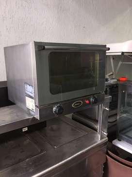 !!! GANGA !!! Vendo Horno UNOX a 220v multiusos por convencion en acero usada negociable
