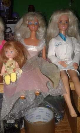 Muñecas barbie originales articuladas de colección año 90-97