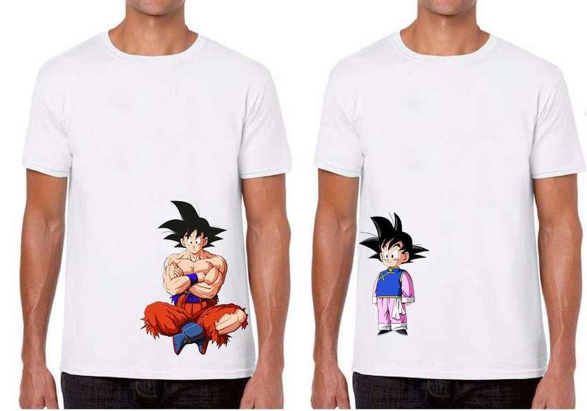 Camisetas Personalizadas Papá e Hijo DragonBall 0