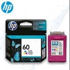 Cartucho de Tinta HP 60 Tricolor Original Cartucho de tinta tricolor con rendimiento de hasta 165 páginas aprox  sellado