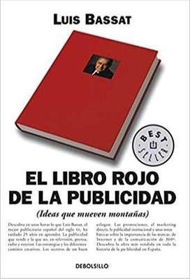 """Libro de ventas El libro rojo de la publicidad """"Incrementa Tus Ganancias de la Noche a la Mañana Sin Usar Más Capital"""""""