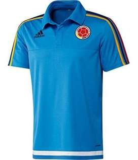 Camiseta seleccion colombia hombre polo futbol