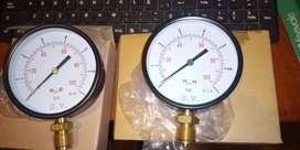 2 Manómetros p/gas 7 BAR (7 kg/cm2) - 100 PSI