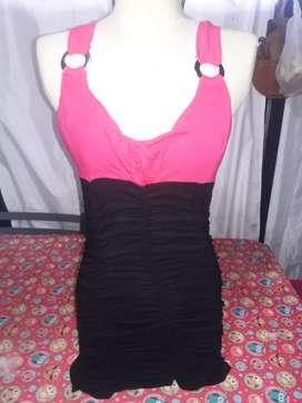 Vestido arruchado
