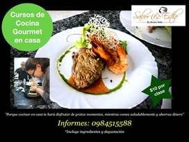 Cursos Cocina Gourmet en casa