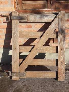 Tranquera de 2 Hojas Y Puerta Tranquera