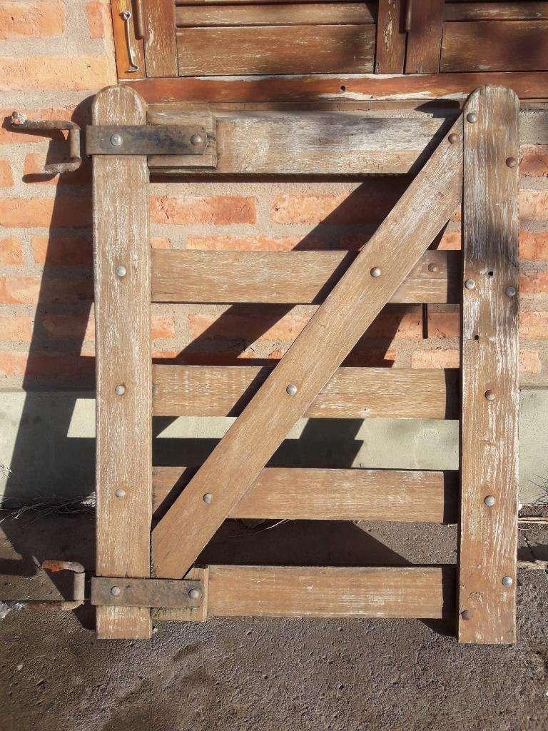 Tranquera de 2 Hojas Y Puerta Tranquera 0