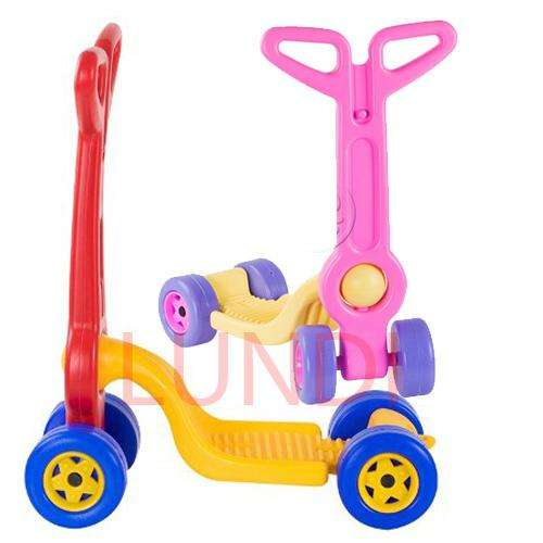 Patineta Scooter Boy Toys 4 Ruedas Juguete Nuevo Montable 0