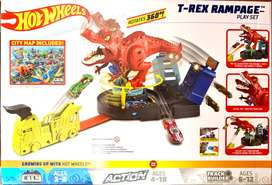 Pista Original T-Rex rampage hot wheels