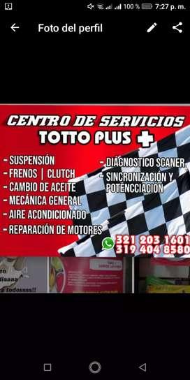 Ofrecemos servicio de mecánica automotriz