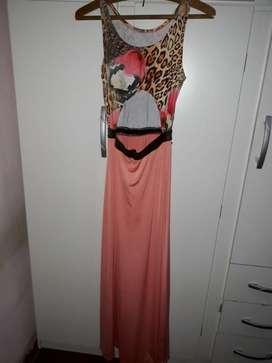 Vestido de Fiesta Lycra de Seda Hermoso