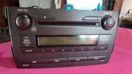 Stereo original Corolla 2009