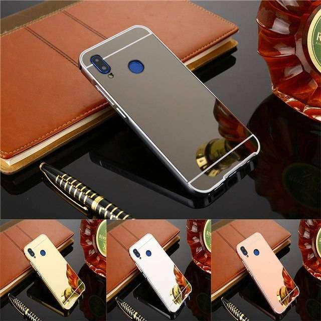 Estuche Carcasa Protector Espejo Huawei P20 y P20 Lite