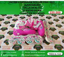 PATINES CANARIAM ROLLER PINK 2021