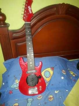 Guitarra MCArt Rojo+Amplificador