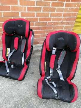 Porta bebés para carro