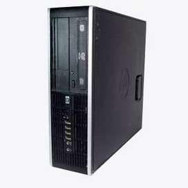 Computador Corporativo Hp. Core 2 Quad 4gb 250gb Usado