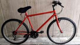 mountain bike M/B 21 cambios shimano rod 26