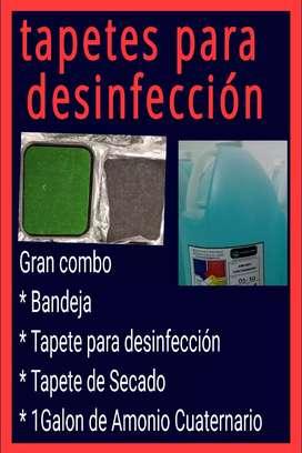 Tapetes para desinfectar