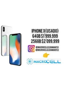VENCAMBIO IPHONE X 64GB, 256GB