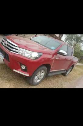 Toyota srv cuero 4x2 2017 $1.700.000
