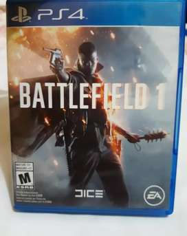 PlayStation 4 BATTLEFIELD 1- Excelente estado