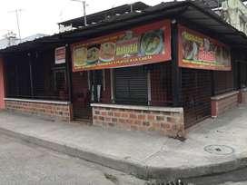Local ideal para venta de platos típicos
