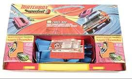 Pista Matchbox Track 800 carreras autos coleccion