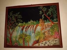 Cuadro decoracion en felpa