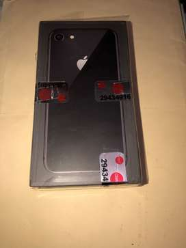 iPhone 8 64 Gb Negro, Completamente nuevo 10/10, libre para cualquier operador