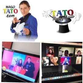 show de magia en cali ,eventos virtuales online ,mago,payasos