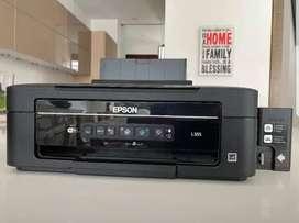 Impresora epson multifuncional con sistema de tinta continuo epson l355 wifi