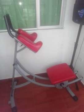 Maquina de para hacer abdominales