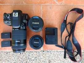Canon EOS Sl1 con accesorios