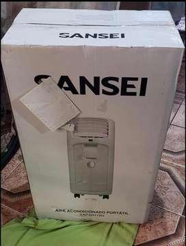 Aire portatil Sansei 3500 frigorias,frio/calor/ventilador/