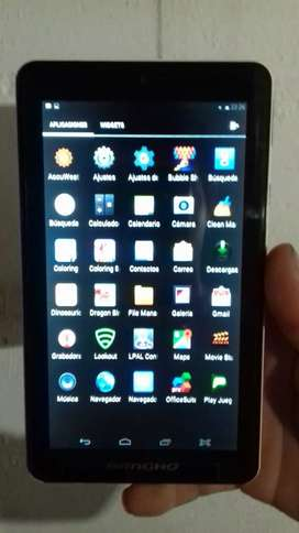 Vendo tablet de 7 pulgadas pantalla FULL HD