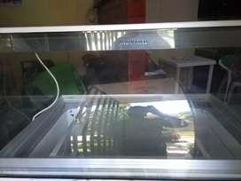 Congelador exhibidor